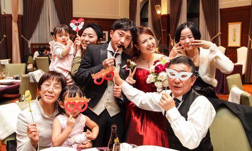 両家の絆を結ぶ神前挙式&パーティーは楽しくフォトクルーズを☆